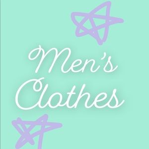 Other - Label for the men's section of my closet